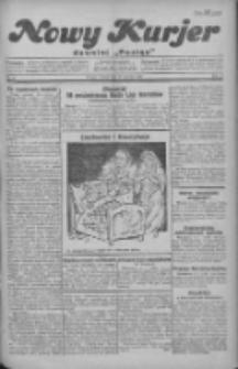 """Nowy Kurjer: dawniej """"Postęp"""" 1930.01.14 R.41 Nr10"""