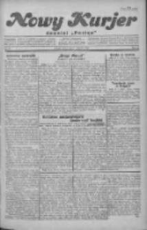 """Nowy Kurjer: dawniej """"Postęp"""" 1930.01.21 R.41 Nr16"""