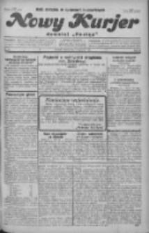 """Nowy Kurjer: dawniej """"Postęp"""" 1930.01.28 R.41 Nr22"""