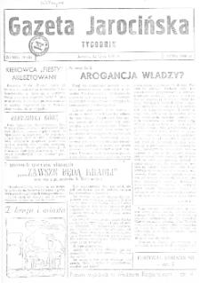 Gazeta Jarocińska 1991.07.12 Nr39(II)