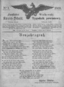 Fraustädter Kreisblatt. 1869.01.02 Nr1