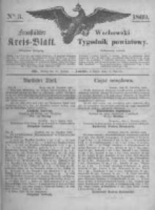 Fraustädter Kreisblatt. 1869.01.15 Nr3