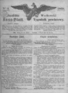 Fraustädter Kreisblatt. 1869.01.22 Nr4
