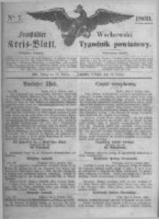 Fraustädter Kreisblatt. 1869.02.12 Nr7