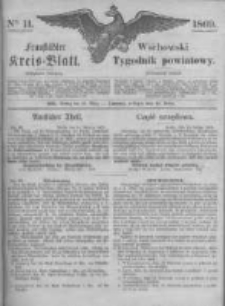 Fraustädter Kreisblatt. 1869.03.12 Nr11