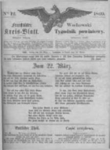 Fraustädter Kreisblatt. 1869.03.19 Nr12