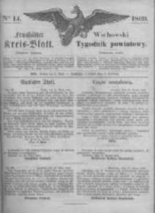 Fraustädter Kreisblatt. 1869.04.02 Nr14
