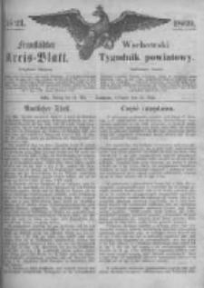 Fraustädter Kreisblatt. 1869.05.21 Nr21