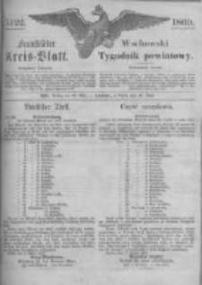 Fraustädter Kreisblatt. 1869.05.28 Nr22