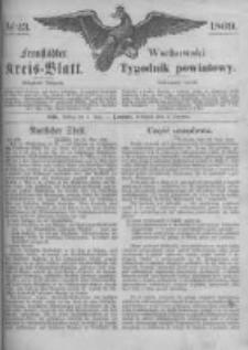 Fraustädter Kreisblatt. 1869.06.04 Nr23