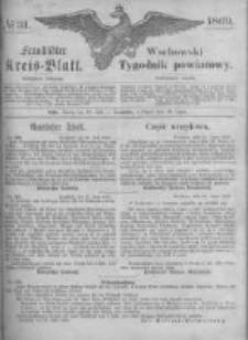 Fraustädter Kreisblatt. 1869.07.30 Nr31