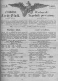Fraustädter Kreisblatt. 1869.08.20 Nr34