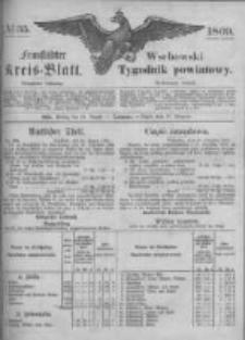 Fraustädter Kreisblatt. 1869.08.27 Nr35