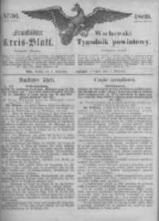 Fraustädter Kreisblatt. 1869.09.03 Nr36