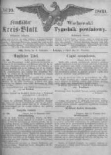 Fraustädter Kreisblatt. 1869.09.24 Nr39