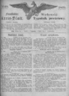 Fraustädter Kreisblatt. 1869.10.01 Nr40