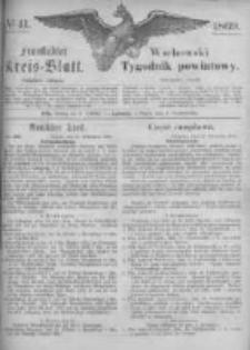 Fraustädter Kreisblatt. 1869.10.08 Nr41