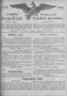 Fraustädter Kreisblatt. 1869.10.29 Nr44