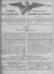 Fraustädter Kreisblatt. 1869.11.26 Nr48