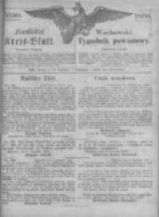 Fraustädter Kreisblatt. 1869.12.10 Nr50
