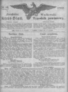 Fraustädter Kreisblatt. 1869.12.17 Nr51