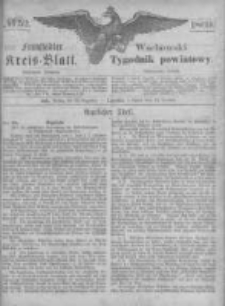 Fraustädter Kreisblatt. 1869.12.24 Nr52