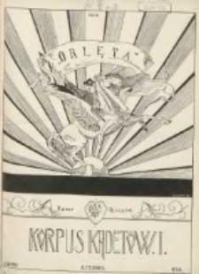Orlęta: czasopismo młodzieży Korpusu Kadetów nr 1 we Lwowie 1930.06.08 R.3 Nr2