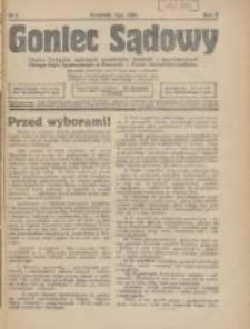 Goniec Sądowy: organ Związku Sądowych Urzędników Średnich i Kancelaryjnych Okręgu Sądu Apelacyjnego w Poznaniu 1928.02 R.8 Nr2