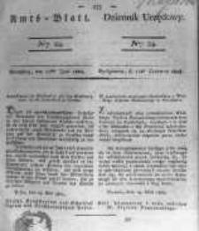 Amtsblatt der Königlichen Preussischen Regierung zu Bromberg. 1824.06.11 No.24