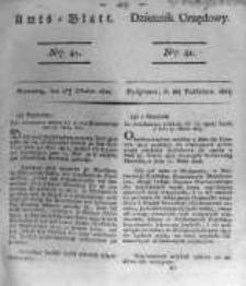 Amtsblatt der Königlichen Preussischen Regierung zu Bromberg. 1824.10.08 No.41