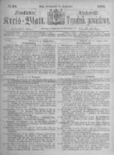 Fraustädter Kreisblatt. 1873.09.19 Nr38