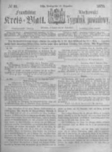 Fraustädter Kreisblatt. 1873.12.19 Nr51
