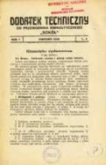 """Dodatek Techniczny do Przewodnika Gimnastycznego """"Sokół"""" 1925.04 R.1 L.4"""