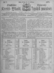 Fraustädter Kreisblatt. 1876.02.18 Nr7