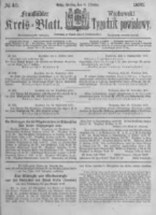 Fraustädter Kreisblatt. 1876.10.06 Nr40