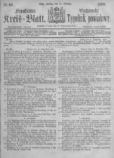 Fraustädter Kreisblatt. 1876.10.27 Nr43