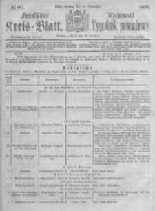 Fraustädter Kreisblatt. 1876.12.15 Nr50