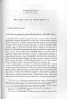 Czy Piastowie głogowscy panowali nad Żarami w XIII-XIV wieku?