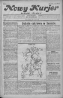 """Nowy Kurjer: dawniej """"Postęp"""" 1931.03.01 R.42 Nr49"""