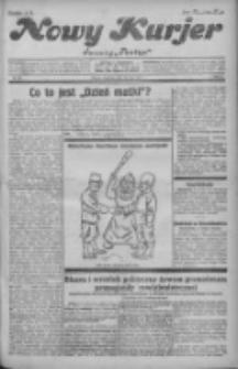 """Nowy Kurjer: dawniej """"Postęp"""" 1931.05.10 R.42 Nr108"""