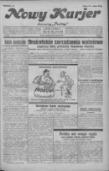 """Nowy Kurjer: dawniej """"Postęp"""" 1931.08.02 R.42 Nr176"""