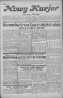 """Nowy Kurjer: dawniej """"Postęp"""" 1931.08.09 R.42 Nr182"""