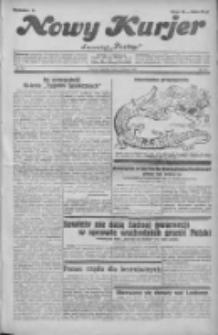 """Nowy Kurjer: dawniej """"Postęp"""" 1931.08.23 R.42 Nr193"""
