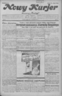 """Nowy Kurjer: dawniej """"Postęp"""" 1931.10.04 R.42 Nr229"""
