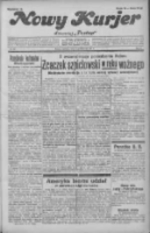 """Nowy Kurjer: dawniej """"Postęp"""" 1931.10.18 R.42 Nr241"""