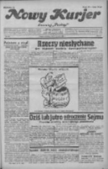 """Nowy Kurjer: dawniej """"Postęp"""" 1931.11.08 R.42 Nr259"""