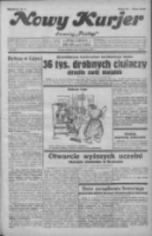 """Nowy Kurjer: dawniej """"Postęp"""" 1931.11.22 R.42 Nr271"""