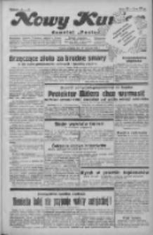 """Nowy Kurjer: dawniej """"Postęp"""" 1931.11.29 R.42 Nr277"""
