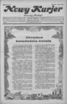 """Nowy Kurjer: dawniej """"Postęp"""" 1931.12.25 R.42 Nr298"""