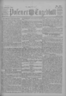 Posener Tageblatt 1902.09.17 Jg.41 Nr435